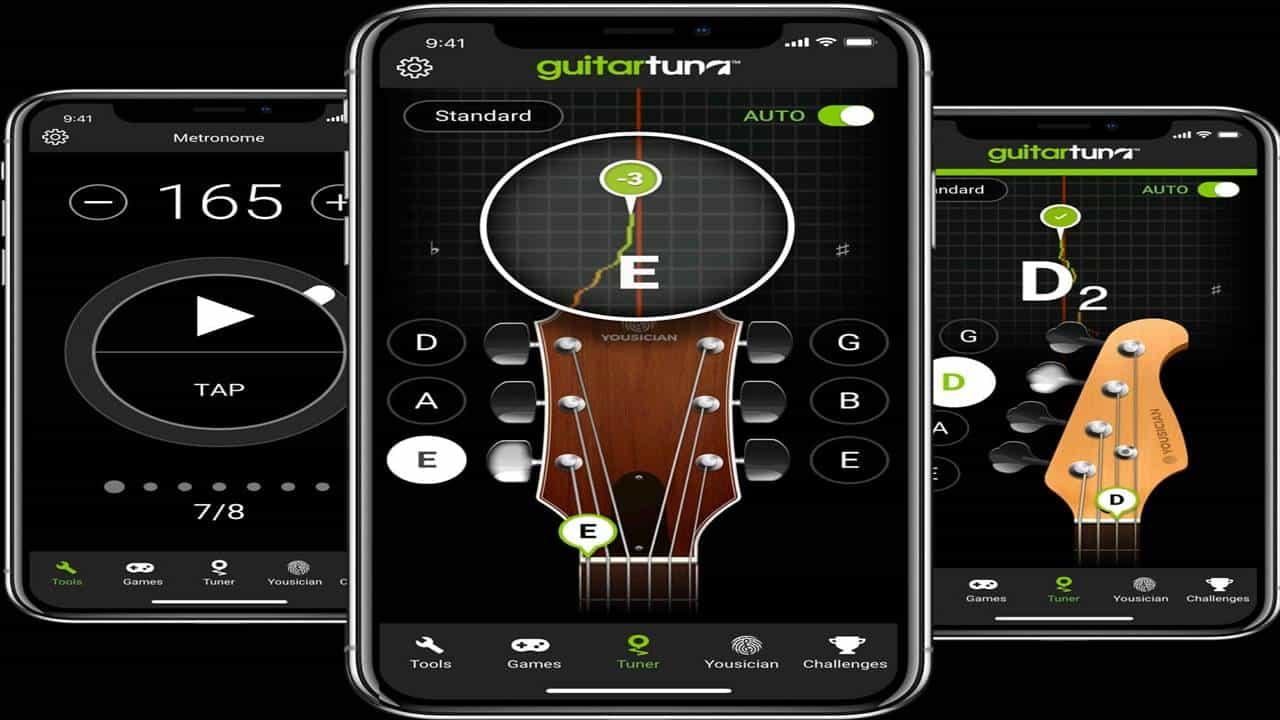 Cara Stem Gitar dengan Aplikasi Guitar Tuna