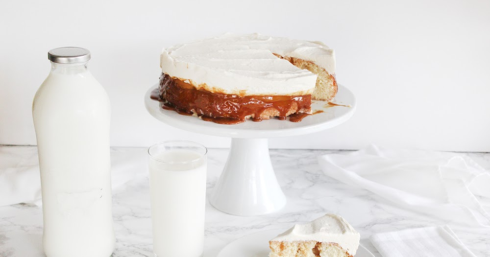 Southern Mom Loves Caramel Tres Leches Cake