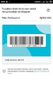 Cara menggunakan voucher gojek swadaya di alfamart khusus buat mitra