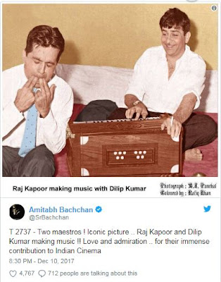 SrBachchan-tweets-to-wish dilip-kumar