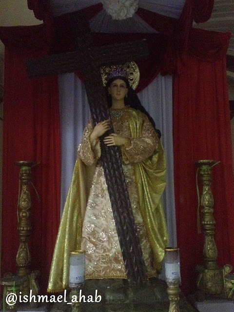 Saint Helen of Constantinople in Holy Cross Church in Noveleta, Cavite