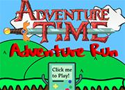 Hora de aventura Adventure Run