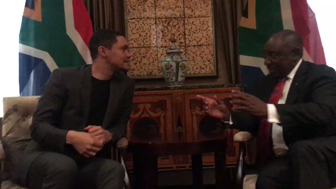 SA leader jealous of Trevor Noah's applause