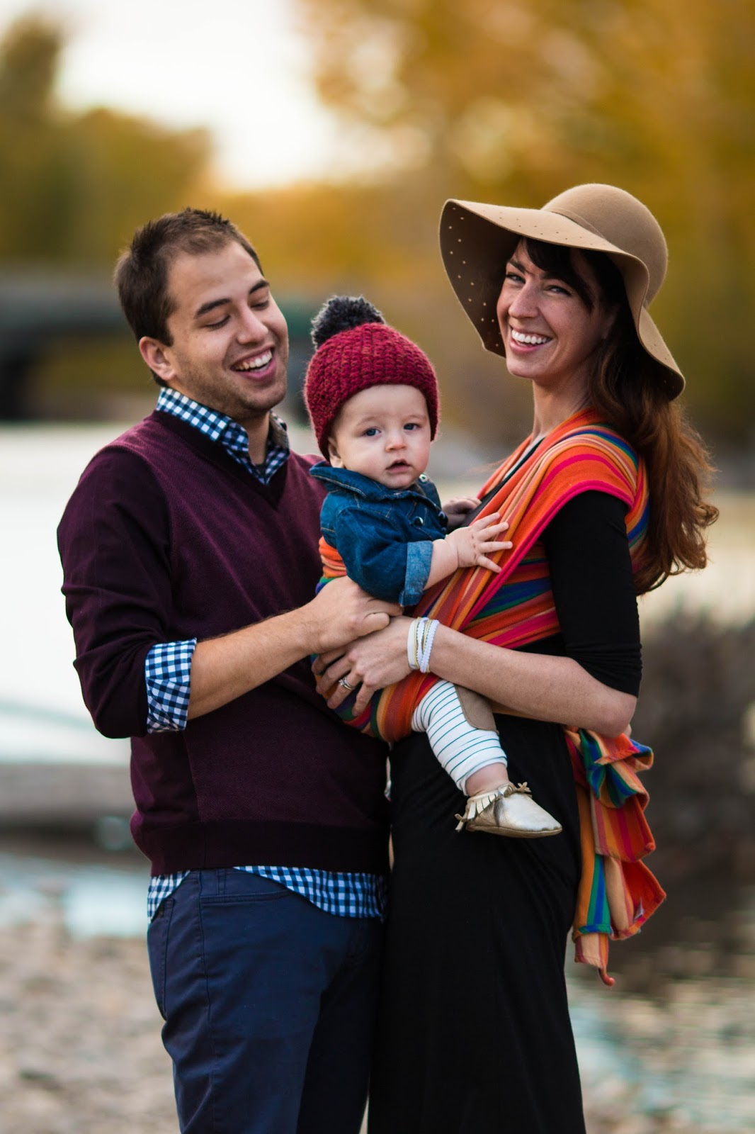 Fall Babywearing Photoshoot Much Most Darling