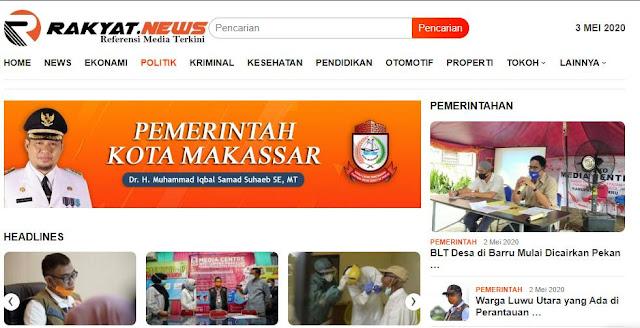 Rakyat News Media Online terpercaya di sulawesi selatan