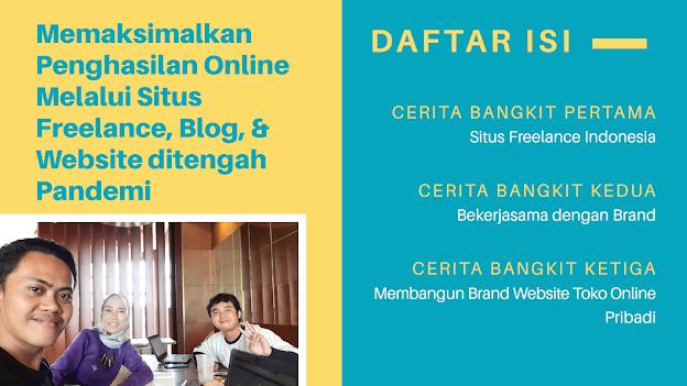 Qword Blog Competition, Penghasilan Online saat pandemi