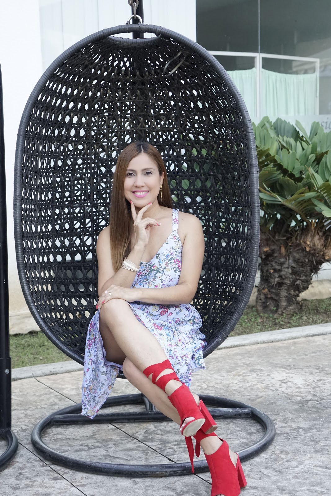 Venezuelan fashion designer Eugenia Molina, CEO in her own company. She designs bags made of leather.
