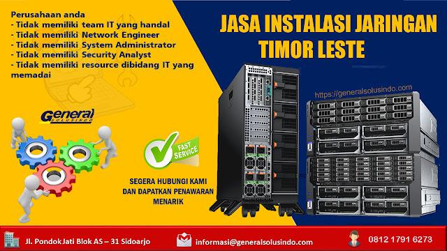 Jasa Jaringan Timor Leste