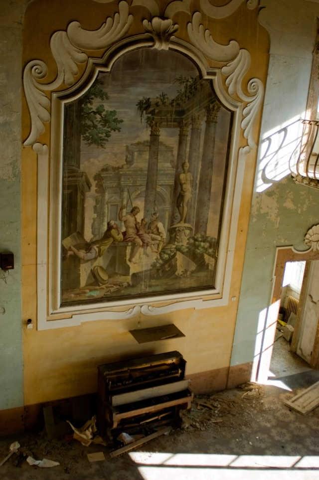 Hospital psiquiátrico abandonado en La Toscana.