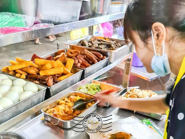 Early Morning 5am Chinese Nasi Lemak Near Jalan Perak Market