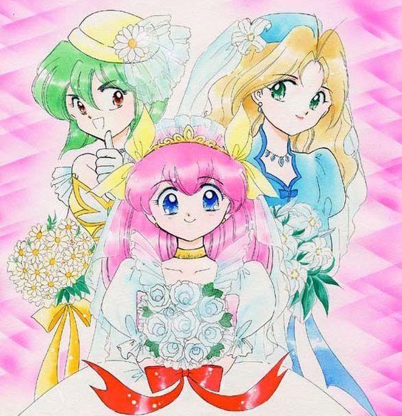 manga Wedding Peach
