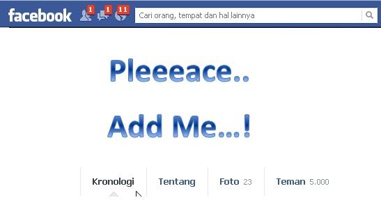 10 Cara cepat dapat banyak teman facebook hingga ribuan