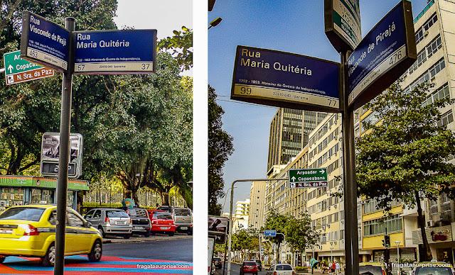 Rua Maria Quitéria, Ipanema