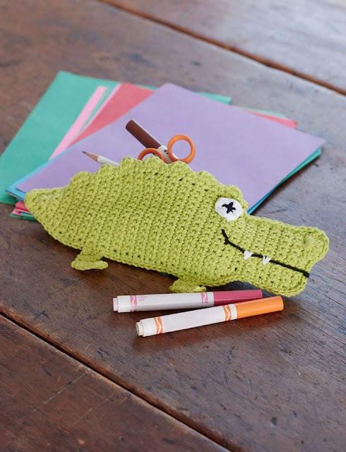 Estuches a Crochet