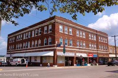 Former Hotel Hill Building in Oak Hill, WV