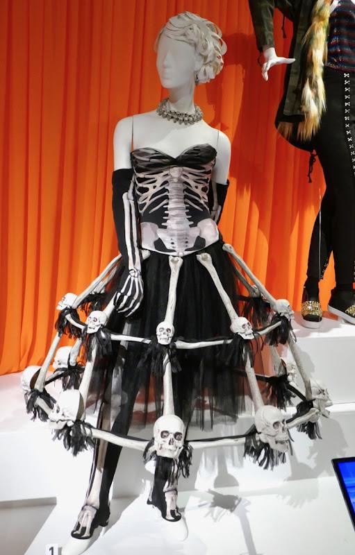 Crazy Ex-Girlfriend season 4 skeleton skull dress costume
