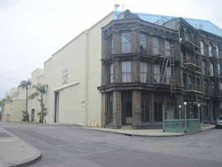 SOHO section of Paramount Backlot.