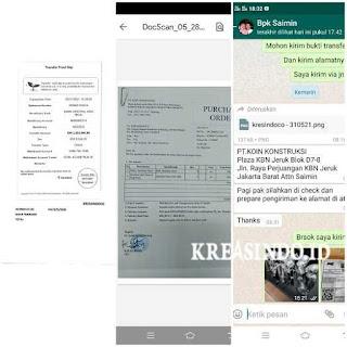 Kerekan atau Katrol dan Bola Master Tiang Bendera Stainless pesanan PT Koin Kontruksi Jakarta
