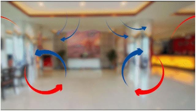 Ventilation ACR is Doubled in Lobbies & Hallways