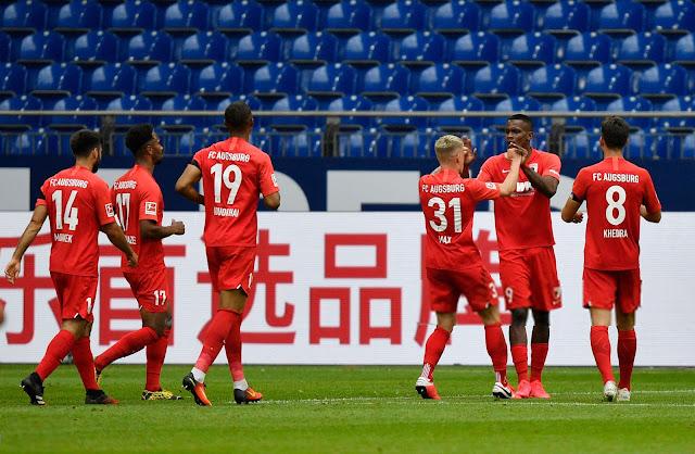 Augsburgo celebra el tercer tanto