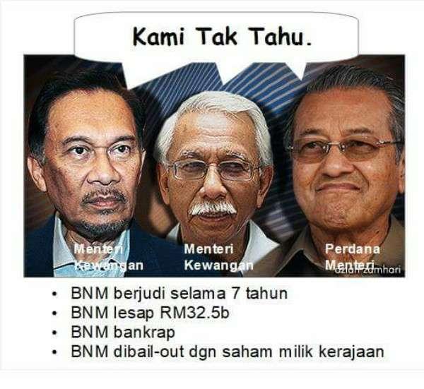 Ringkasan RCI Mengenai Skandal Forex BNM RM32.5 Bilion
