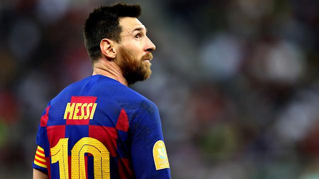 مستقبل ميسي مع برشلونة