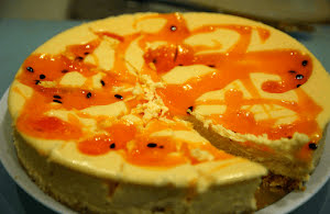 Passionfruit Cheesecake Recipe
