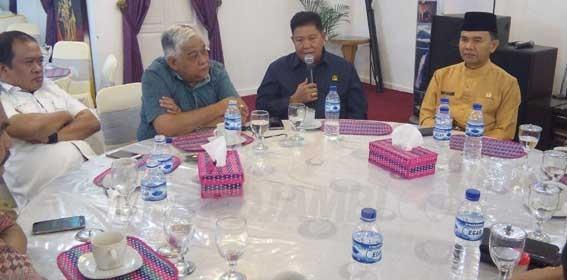 Hari ini,DPRD Provinsi dan Pemerintah Kabupaten Kerinci Bahas Pemekaran Kerinci Ilir