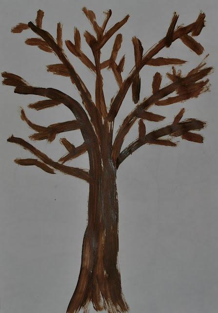 trunchi copac