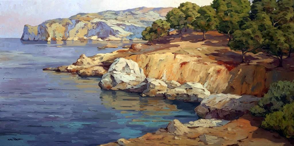 Mallorca en Pintura Kiku Poch 1963