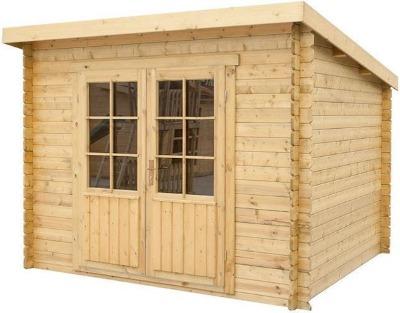 Tuinhuis hout Interflex