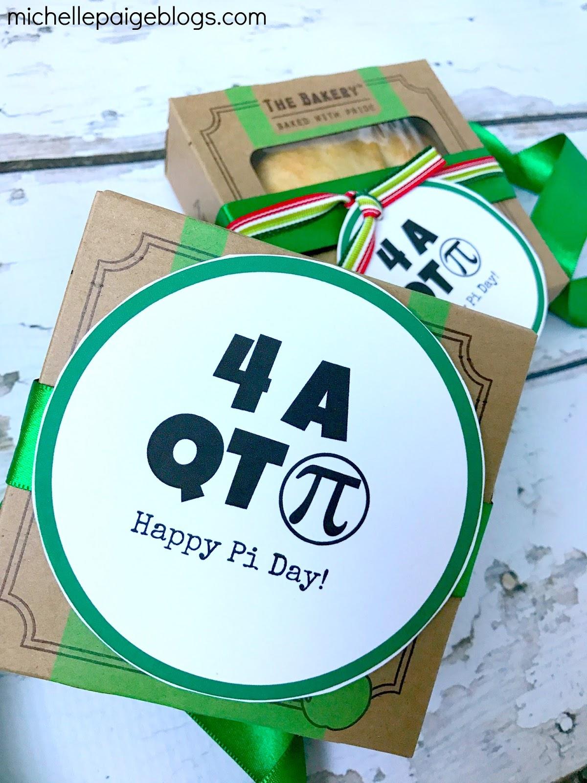 Michelle Paige Blogs Pi Day Printables