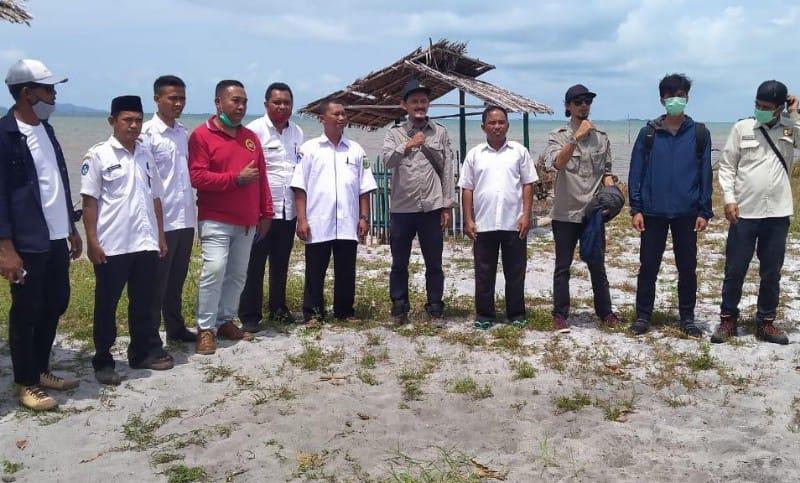 Tim Satker PPK OP 2 BWS Sumatera IV Mensurvei Sejumlah Titik Lokasi Abrasi Akibat Air Laut di Lingga