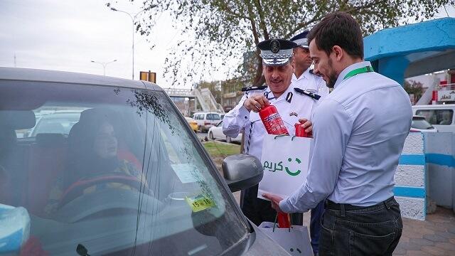 كريم تتعاون مع مديرية المرور العامة لتعزيز الثقافة المرورية