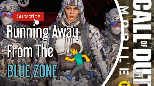 Call of Duty: Mobile Gameplay [21.4.11-3P] Running Away From The Blue Zone
