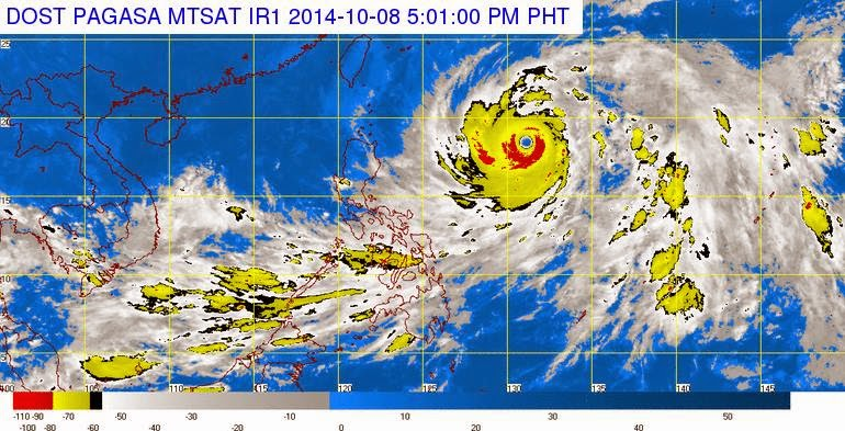 2014's strongest typhoon 'Ompong' is far to spare Philippines