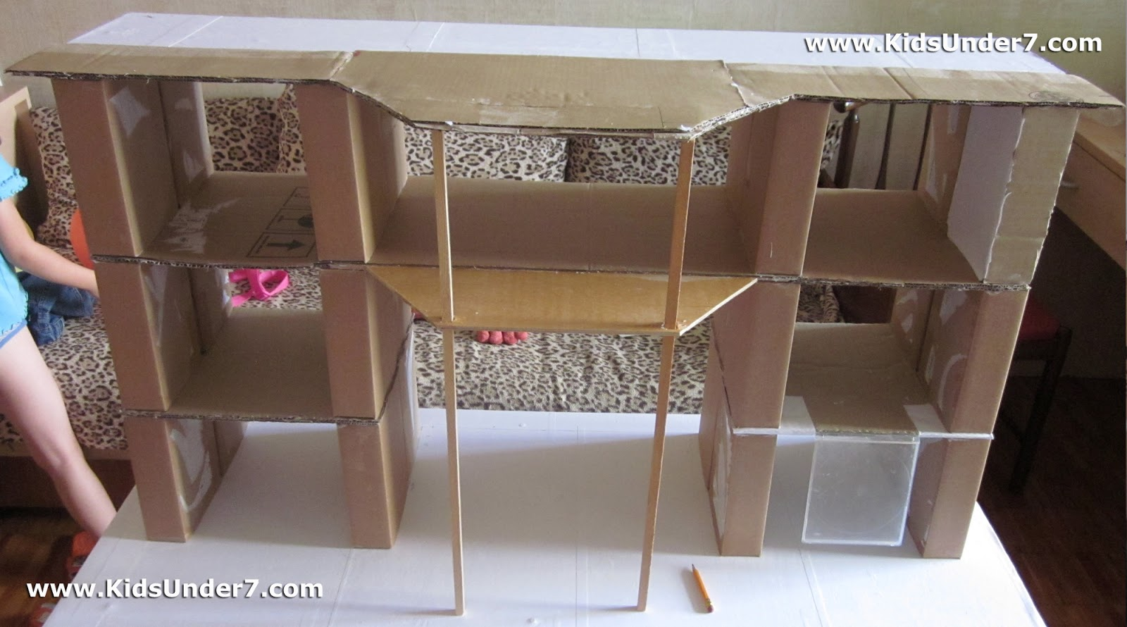 Kids Under 7 How To Make A Dollhouse Part 1 Doll House Wiring The For Lighting Of All Rooms We Conducted In Walls