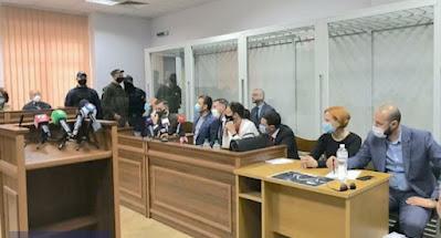 Начался суд над обвиняемыми в убийстве Шеремета