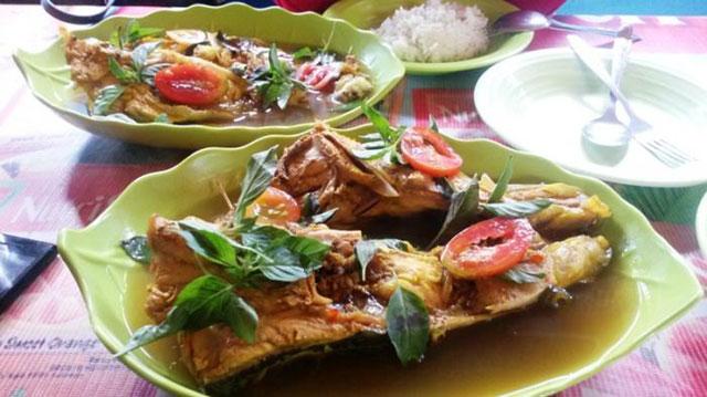 Kuah Asam Ikan Tenau