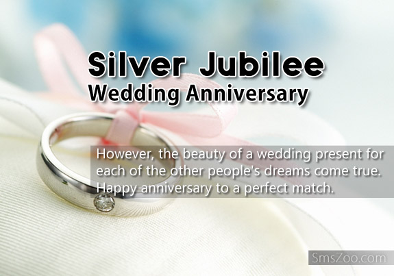 Quotations for 25th wedding anniversary