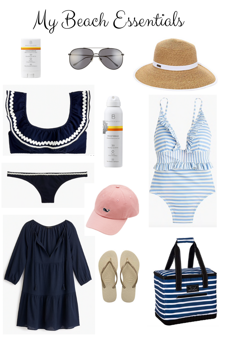 Thoughts for Thursday: My Beach Essentials