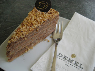 Pastries at Demel which has since closed