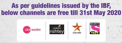 Watch Free Sony Pal, Zee Anmol, Star Utsav Aur Rishtey TV