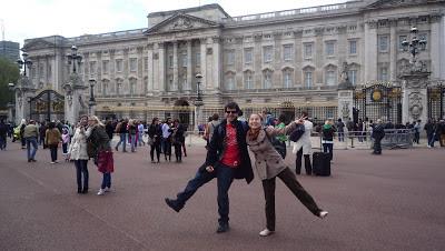 Palácio de Buckingham - Londres, Inglaterra