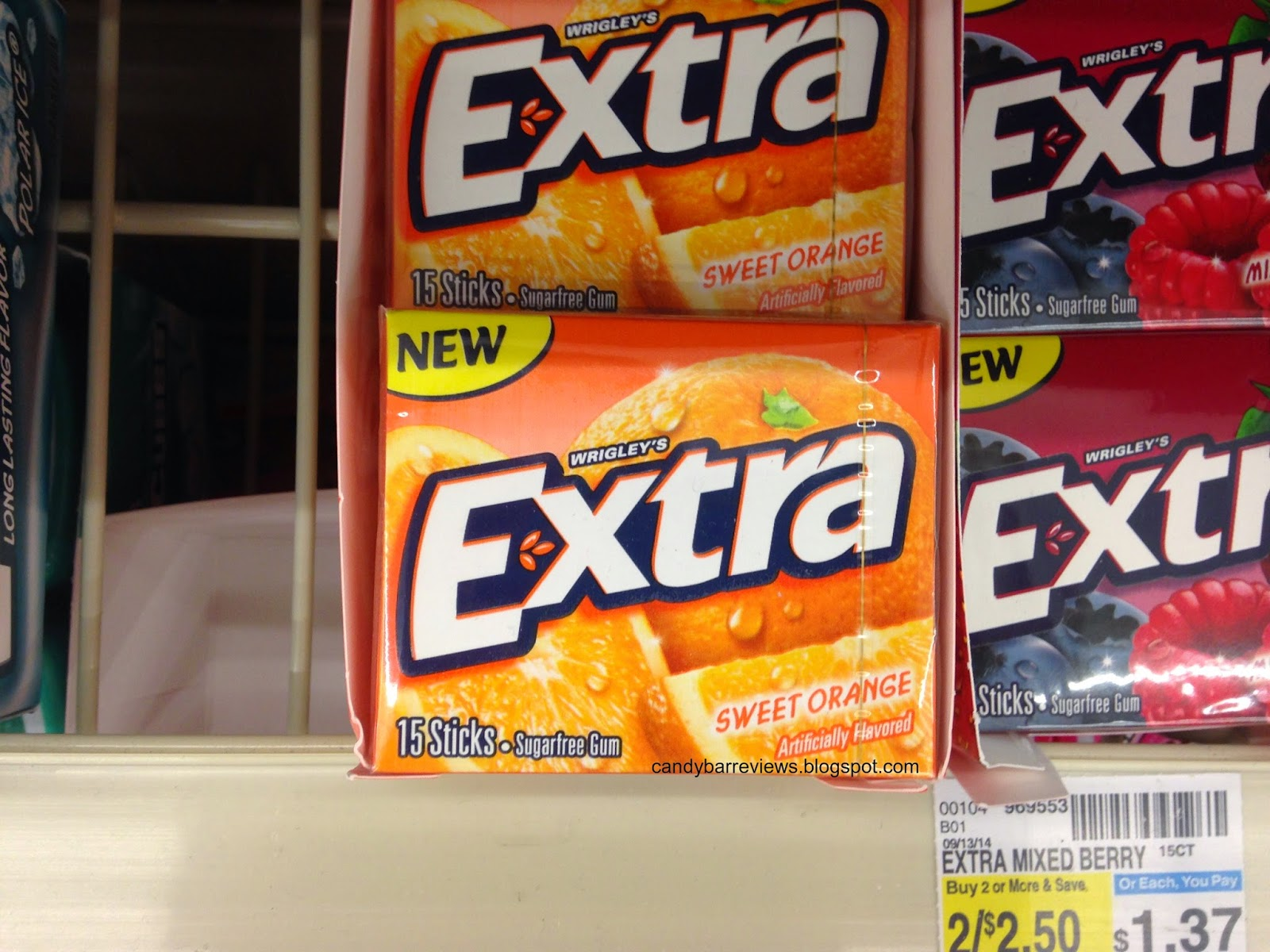 Candy Bar Reviews: Candy Hunting - New Chewing Gum