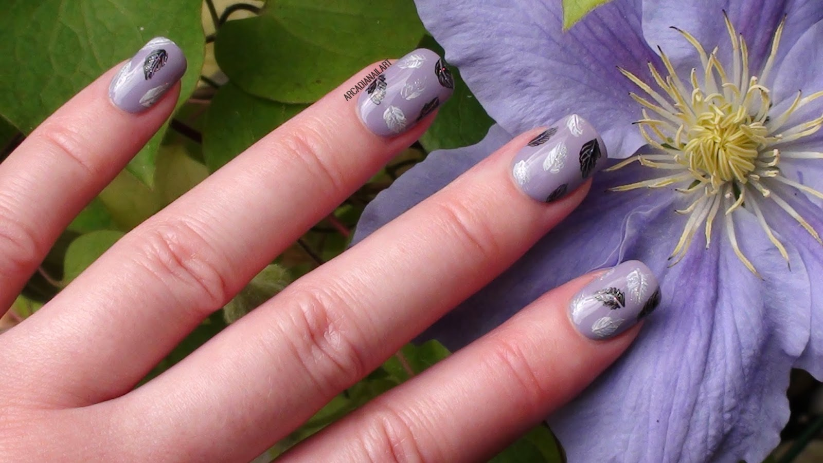 Arcadianailart Create Easy Feather Nail Art With A Toothpick