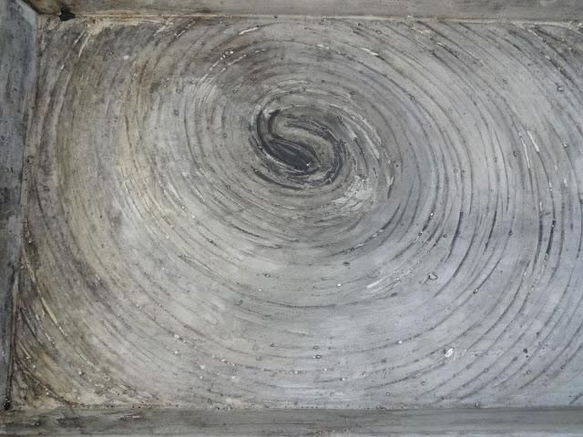 Swirl Concrete Vanity Tray