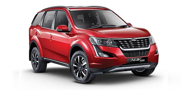 2018 New XUV 500 Tuscan Red colour