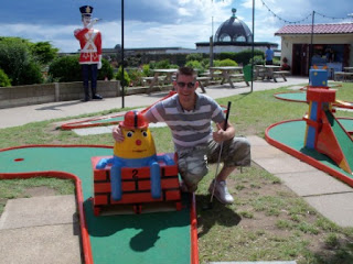 With a Humpty at Merrivale Model Village in Great Yarmouth