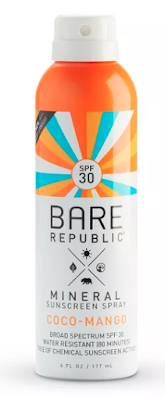Bare Republic Mineral Sunscreen Spray